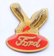 Pin's  FORD - Le Logo Rouge - Aigle Ailes Déployées  - D133 - Ford