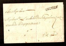 Voorloper Met Griffe BRUGES (zie 2 Scans) ! Inzet Aan 10 € ! - 1830-1849 (Belgique Indépendante)