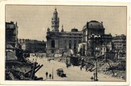 CP, 59, LILLE, Deutsches Theater ; Dahinter DerTurm Der Neuen Boerse, Voyagé En 1917 - Lille