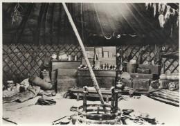 Inteior Of A Mongol Tent.     B-2827 - Mongolia