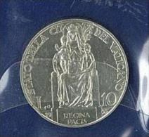 NUMISMATICA - CITTA' DEL VATICANO PIO XI  ANNO 1935 -10 LIRE ARGENTO - SPL/FDC - Vaticano (Ciudad Del)