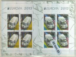 BULGARIA / Bulgarie 2013, Europa / CEPT Booklet –used (O) - Bulgaria