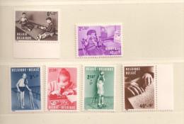 BELGIQUE   ( D15 - 4311 )  1962  N° YVERT ET TELLIER  N° 1225/1230  N** - Belgique
