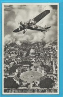 C.P.A. Avion Fokker - Amalienborg - Danemark