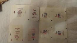 180 Enveloppes Sucre Dans Un Cahier - Pubblicitari