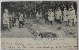 Chasse Aux Sangliers - Kaiserjagd - Circulée En 1903-1904 - Kaiser Wilhelm II - Jagd - Chasse