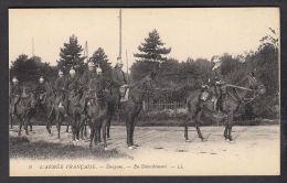 37943/ L'ARMEE FRANCAISE, Dragons, En Détachement, 2 Scans - Regiments