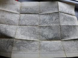 Guerre 14-18 MEAUX Carte état Major Service Géographique Armée ; Ref384 - Geographical Maps