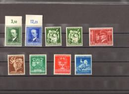Deutsches Reich ** Lot Ex Mi.Nr. 760-771 MNH - Allemagne
