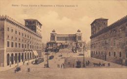 Italy Roma Rome Piazza Venezia e Monumento a Vittorio Emanuele I