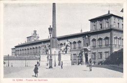 Italy Roma Rome Piazza del Quirinale