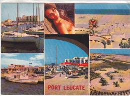 22282 Port Leucate  Le Port Kyklos - 11 Audumares -femme Pin Up -bateau Pecheur O'malley