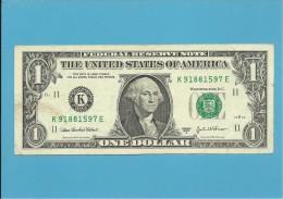 U. S. A. - 1 DOLLAR - 2003A - Pick 515b - DALLAS - TEXAS - Federal Reserve Notes (1928-...)