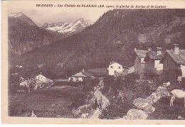 22284 -quatre Cpa éd Chaltier - Ruines Eglise Pierre - Chalets Planais Glaciers Estravache - France