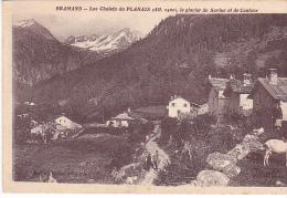 22284 -quatre Cpa éd Chaltier - Ruines Eglise Pierre - Chalets Planais Glaciers Estravache