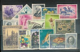 Lotpm - San Marin - Collections, Lots & Séries