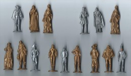 Figurines De Café /MOKAREX / 15 Piéces/ 1953     FIG20 - Other Collections