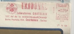 Rein, Maladie, Médicament, Urodonal, Laboratoire, Chatelin, Courbevoie - EMA Secap -  Enveloppe Complète  (M978) - Farmacia