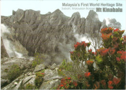 Vue Du Mont Kinabalu 4095m    . Sabah.     Format 175 X 125 Mm   Neuve Non Circulée - Malasia