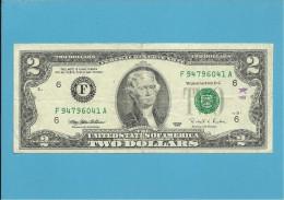 U. S. A. - 2 DOLLARS - 1995 - Pick 497 - ATLANTA - GEORGIA - Federal Reserve Notes (1928-...)