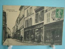 16 - Barbezieux - Rue Sadi-Carnot - 1908 - Autres Communes