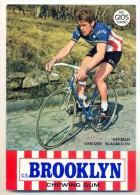 CARTOLINA: HERMAN VAN DER SLAGMOLEN - NON VIAGGIATA - F/G - COLORI - LEGGI - Cyclisme