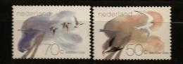 Pays-Bas Nederland 1982 N° 1179 / 80 ** Mer Des Wadden, Oiseaux, Animaux, Sterne Caugek, Bernache Nonnette, Ombre - Nuovi
