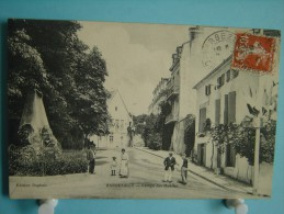 16 - Barbezieux - Rampe Des Mobiles - 1911 - Autres Communes