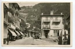 Saint Gervais Les Bains La Place Et L'hôtel De La Poste - Saint-Gervais-les-Bains