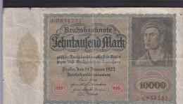 Germany - 10000 Mark - [ 3] 1918-1933 : Weimar Republic