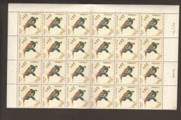 Monaco Olymp.Spiele 1964 Mi.Nr.785 **Bogenteil MNH - Ungebraucht