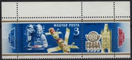 Salyut 6 - Soyuz 28 - CCCP - FISA Stamp Exhibition PRAHA Czechoslovakia - MNH - Hungary 1978 - Space