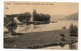 26935  -   Amay  Tournant  De La  Meuse En Aval Du Pont  Vers Liége - Amay