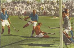 0046. Nederlands Doelpunt, Hockeywedstrijd Tegen Frankrijk  - Blue Band Sportboek: 40 Sporten In Woord En Beeld. Hockey - Hockey - NHL