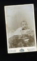 PHOTOGRAPHIE Foto -   CDV  PHOTO Tschira Mulhausen - Enfant Bébé - Child - Kind - Baby - Personnes Anonymes