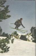 0069. Skiër In Zijn Element. - Blue Band - Sportboek: 40 Sporten In Woord En Beeld - Sports D'hiver