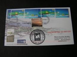== NZ  Scott Base  Anatktis Cv. 2007 - FDC