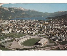 ANNECY (Haute-Savoie) STADE-STADIO-STADIUM-FOOT-FOOTBALL  Carte Grand Format - Voir Etat - - Football