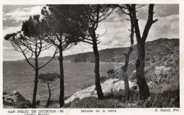 San Feliu De Guixols (Costa Brava); Detalle De La Costa , 1953 - Gerona