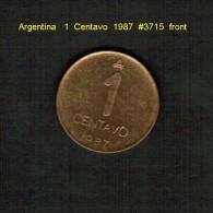 ARGENTINA    1  CENTAVO  1987  (KM # 96.2) - Argentina