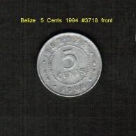 BELIZE    5  CENTS  1994  (KM # 115) - Belize