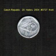 CZECH REPUBLIC   20  HALERU  1993  (KM # 2) - Tchéquie