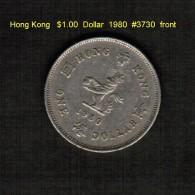 HONG KONG   $1.00 DOLLAR  1980  (KM # 43) - Hong Kong