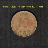 KOREA---SOUTH   10  WON  1983  (KM # 33.1) - Korea, South
