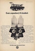 # VOLKSWAGEN SQUAREBACK SEDAN 1970s USA Car Advert Pub Pubblicità Reklame Auto Voiture Coche Carro - KFZ