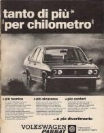 # VOLKSWAGEN PASSAT 1970s Italy Car Advert Pub Pubblicità Reklame Auto Voiture Coche Carro - KFZ