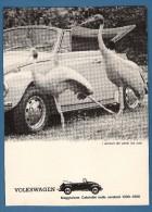 # VOLKSWAGEN  1970s Italy Car Advert Pub Pubblicità Reklame Auto Voiture Coche Carro - KFZ