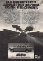 # OPEL ASCONA 16 1970s Italy Car Advert Pub Pubblicità Reklame Auto Voiture Coche Carro - KFZ