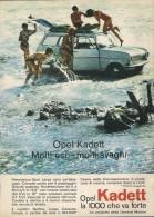 # OPEL KADETT 1000 1960s Italy Car Advert Pub Pubblicità Reklame Auto Voiture Coche Carro - KFZ