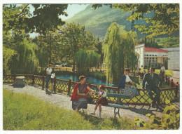 1958, Brescia - Terme Di Boario - Val Camonica - Laghetto Nel Parco Delle Terme. - Brescia